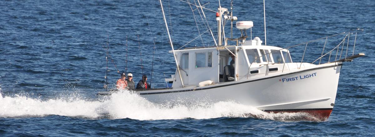 Home first light for Hampton beach deep sea fishing